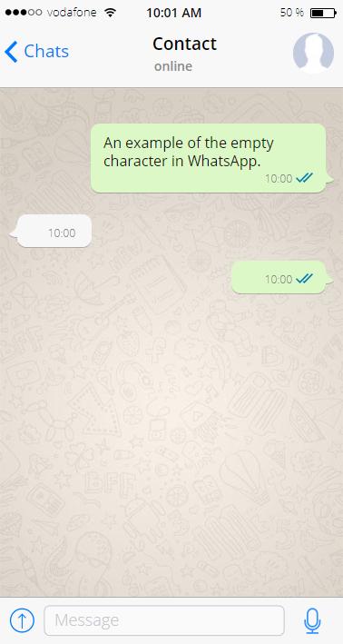 Empty Characters Whitespaces Blank Unicode Characters